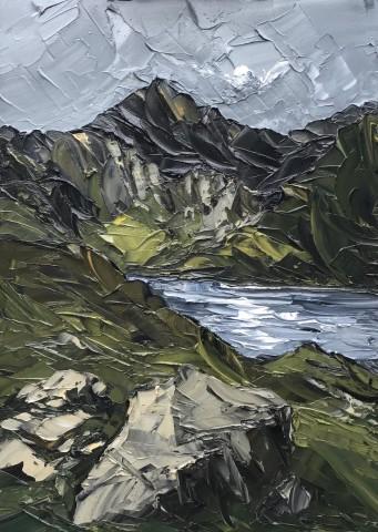 Martin Llewellyn, Dark Sky over Llyn Llydaw