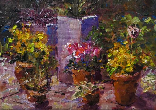 David Grosvenor, Spring Pots