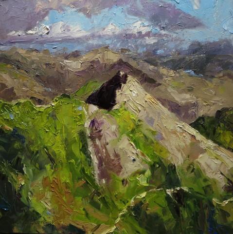 David Grosvenor, Crib Goch from Snowdon
