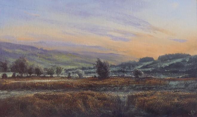 Gerald Dewsbury, Frosty Morning near Llangwm