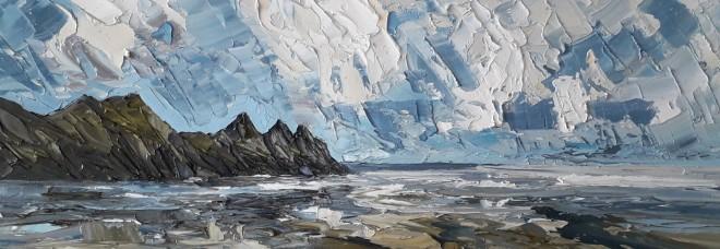 Martin Llewellyn, Three Cliffs, Gower