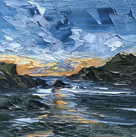 Martin Llewellyn, Sunset, Porth Dafarch