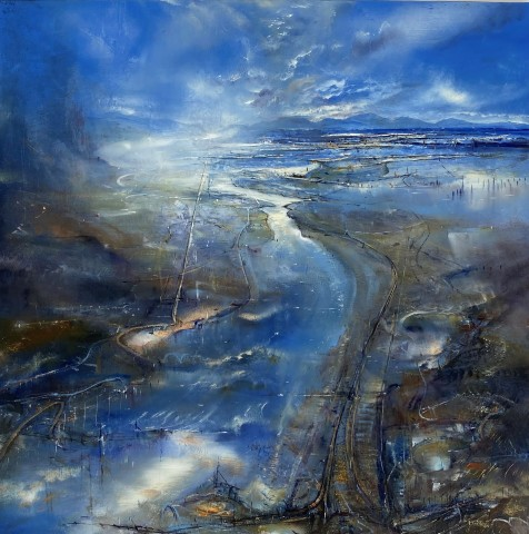Iwan Gwyn Parry, The Cambrian Peninsula (A Serenade of Blue)