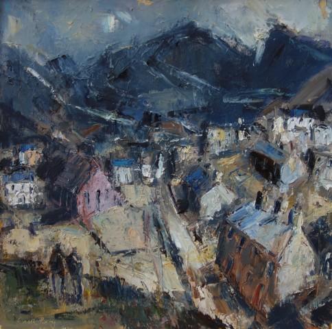 Gareth Parry, Y Ffordd i'r Chwarel / The Road to the Quarry