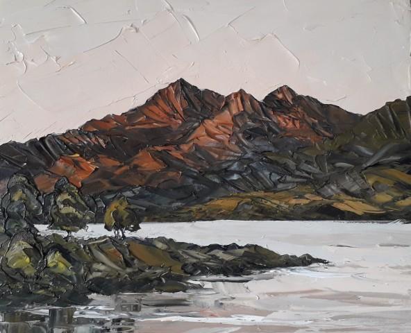 Martin Llewellyn, Sunset, Snowdonia