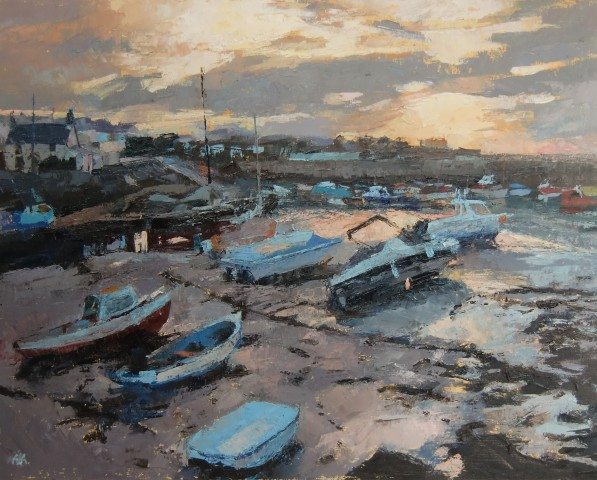 Anne Aspinall, Dusk, Cemaes