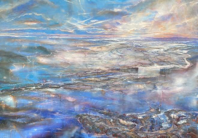 Iwan Gwyn Parry, The Dyfi River Estuary at Twilight