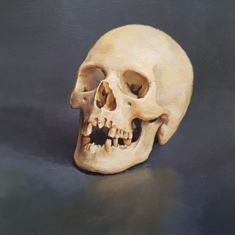 James Guy Eccleston, Skull Study 'Oscar'