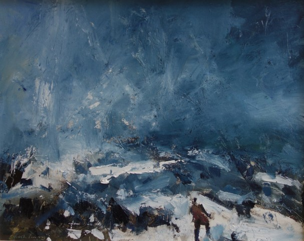 Gareth Parry, Snow and Wind, Ogwen
