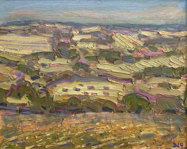 David Lloyd Griffith, A Hot Day in July - Above Llansannan