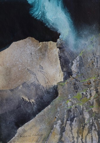 Malcolm Edwards, Side Lit Crag