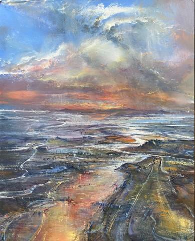 Iwan Gwyn Parry, The Incoming Tide on Malahide Estuary
