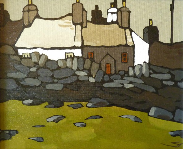 Stephen John Owen, Stone Walls and Cottages, Y Fron