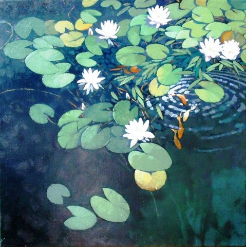 Colin See-Paynton, Our Lily Pond I