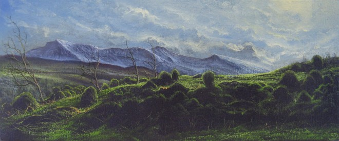 Gerald Dewsbury, Snow covered Cader Idris
