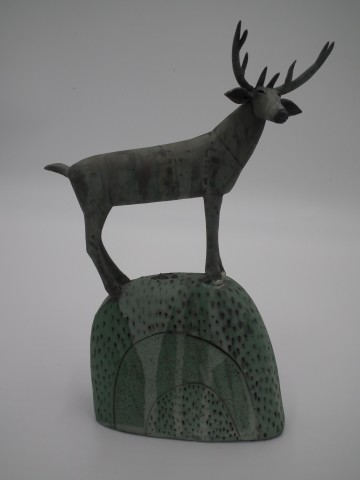 Anna Noel, Small Stag on a Hill