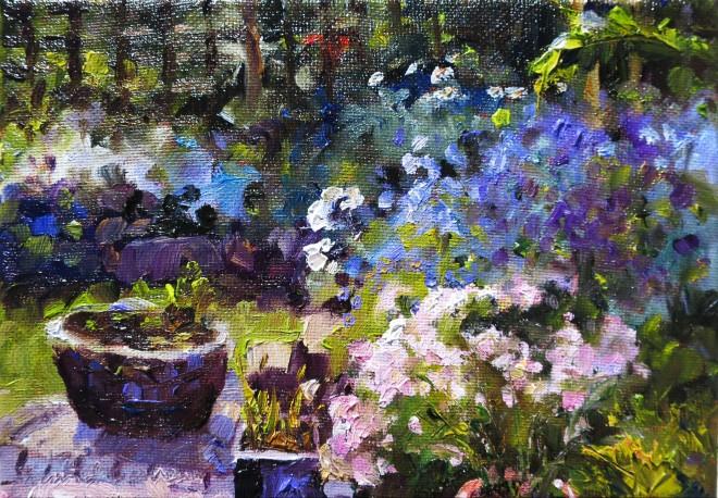 David Grosvenor, The Artist's Garden II