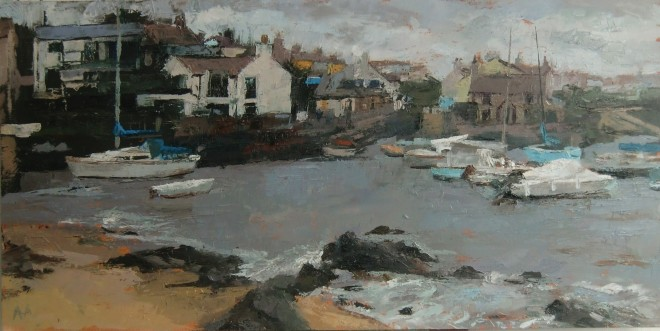 Anne Aspinall, Cemaes, Blue & Grey