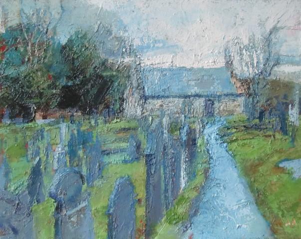 Anne Aspinall, St Tysilio's, Church Island
