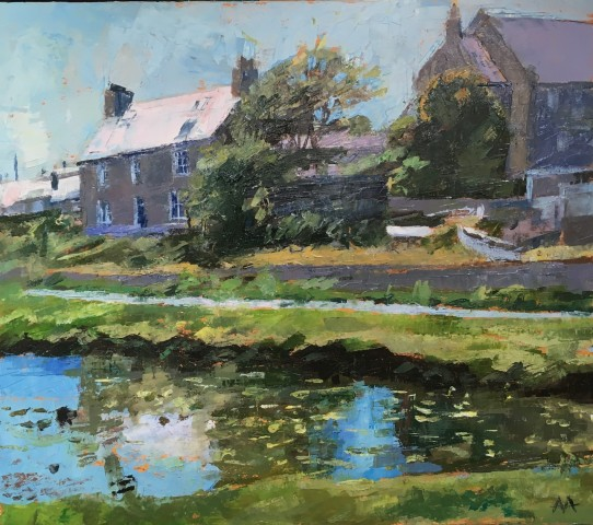 Anne Aspinall, House and Chapel, Aberffraw