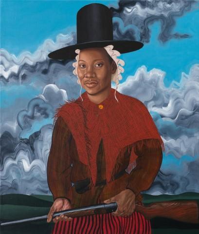 Seren Morgan Jones, Welsh Woman with Shotgun
