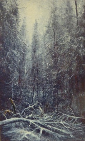 Gerald Dewsbury, In the Winter Woods II