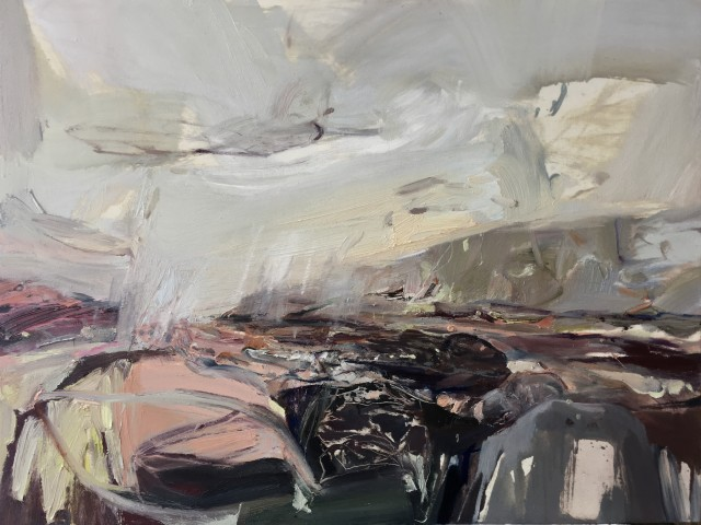 Beth Fletcher, The Two Rocks, Rain Approaching
