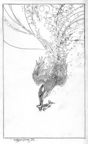 Colin See-Paynton, Kingfisher Fishing VII
