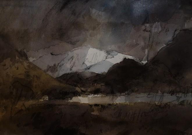 William Selwyn, Snowdon from Nantlle