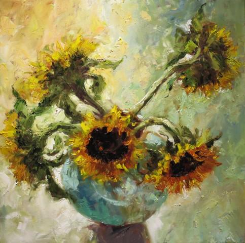 David Grosvenor, Sunflowers