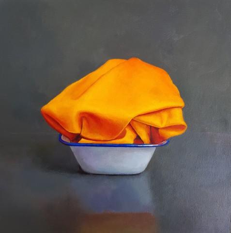 James Guy Eccleston, Orange Indian Silk