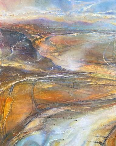 Iwan Gwyn Parry, The Malahide Estuary at Dawn