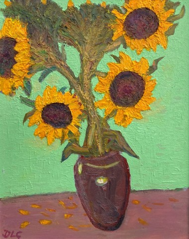 David Lloyd Griffith, Six Sunflowers