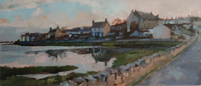 Anne Aspinall, Aberffraw from the Old Bridge