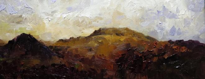 David Grosvenor, Evening Light, Rhyd Ddu
