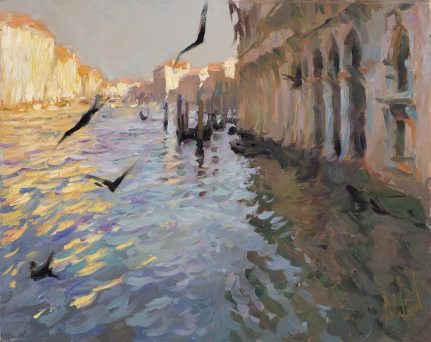 Rob Pointon, Morning Light on the Grand Canal