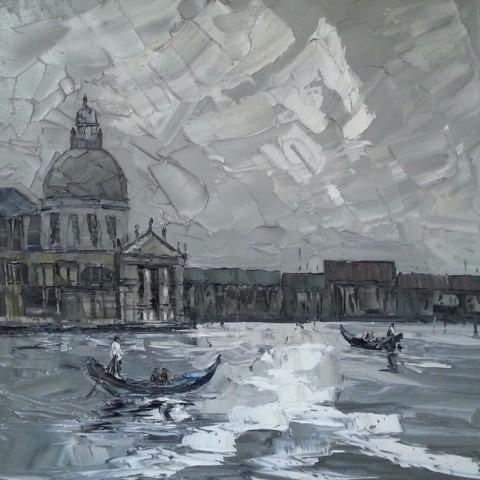 Martin Llewellyn, Gondola, Venice