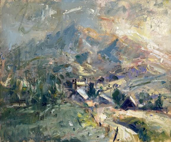 Gareth Parry, Fferm Fynydd Bore, Gwynedd / Hill Farm Morning, Gwynedd