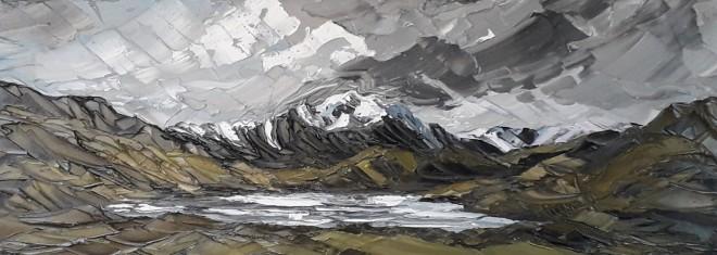 Martin Llewellyn, Snow capped Y Garn