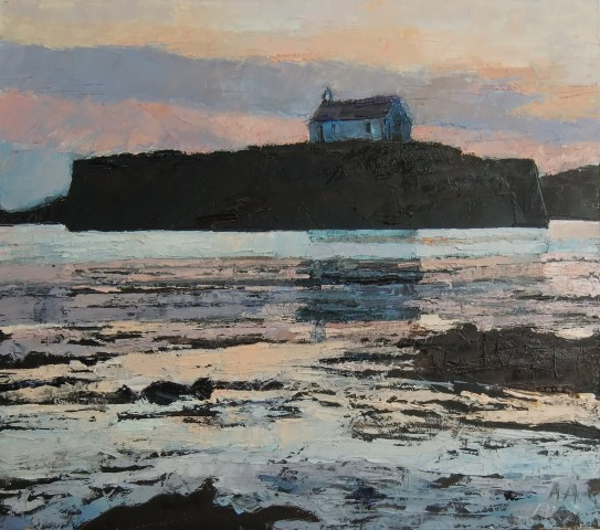 Anne Aspinall, Porth Cwyfan, Sunset