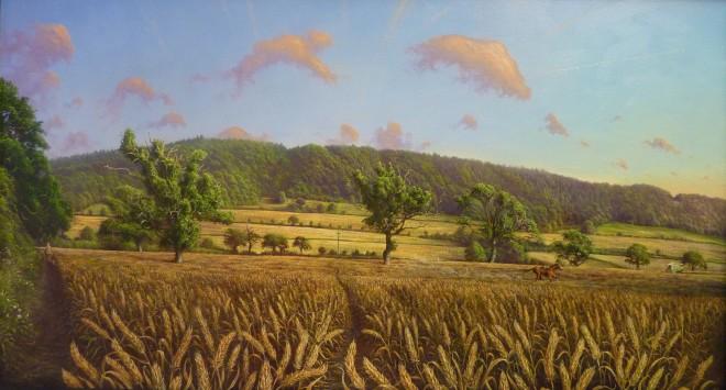 Gerald Dewsbury, Oaks in the Corn