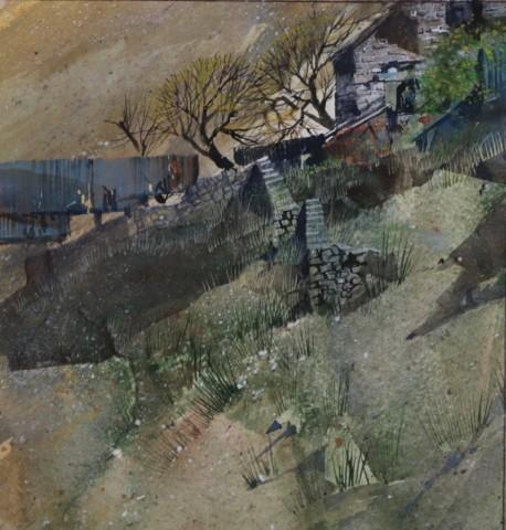 Malcolm Edwards, Derelict Barns