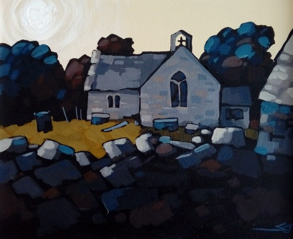 Stephen John Owen, Llanfaglan Church