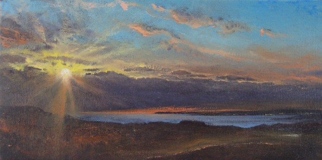Gerald Dewsbury, Sundown over the Lleyn I