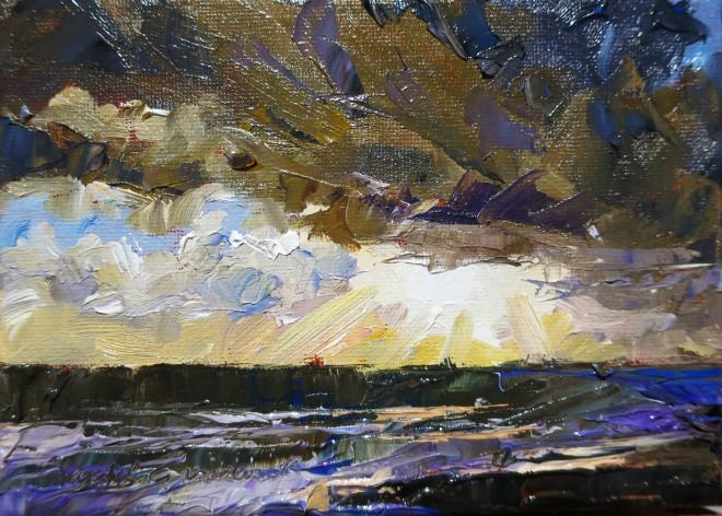 David Grosvenor, Sunset, Criccieth IV