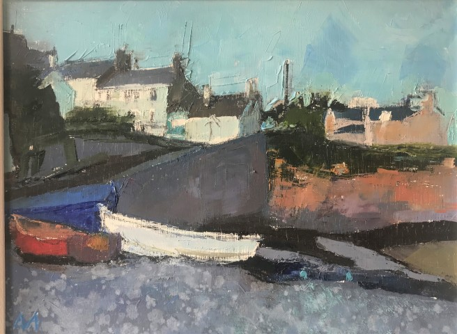Anne Aspinall, Moelfre, Three Boats