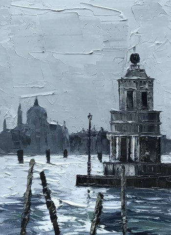 Martin Llewellyn, View Across Saint Mark's, Venice