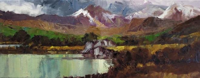 David Grosvenor, Snowdon from Llynnau Mymyr