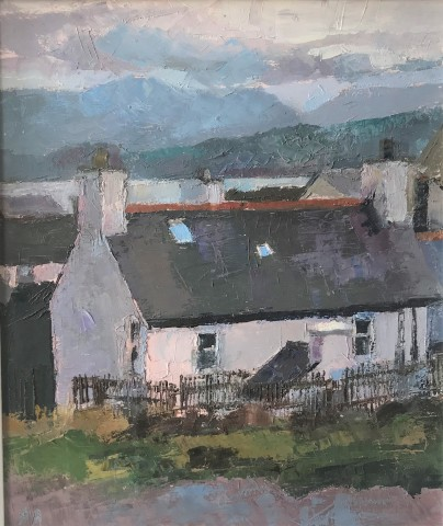 Anne Aspinall, Snowdonia from Moelfre