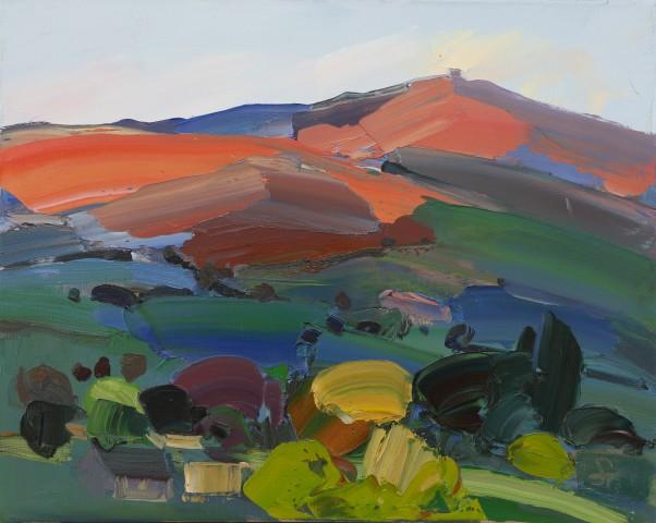 Sarah Carvell, Moel Famau, Pink & Blue